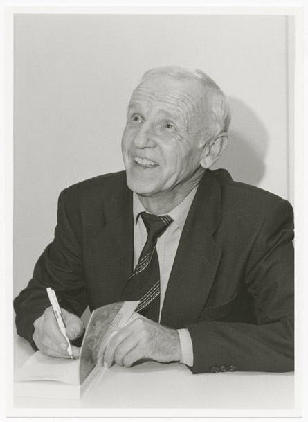 Günter de Bruyn in Marbach, 04.11.1994 © Deutsches Literaturarchiv Marbach